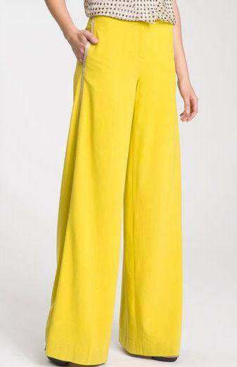 Yellow Tuxedo Pants Will Brighten your Wardrobe