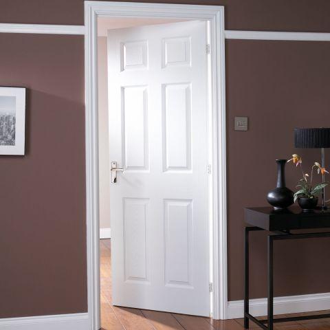 Jeld Wen Moulded Door 6 Panel Woodgrain Internal Door Doorsworld