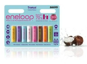 Eneloop Tropical Limited Edition Sanyo Whats In My Camera Bag Rechargeable Batteries