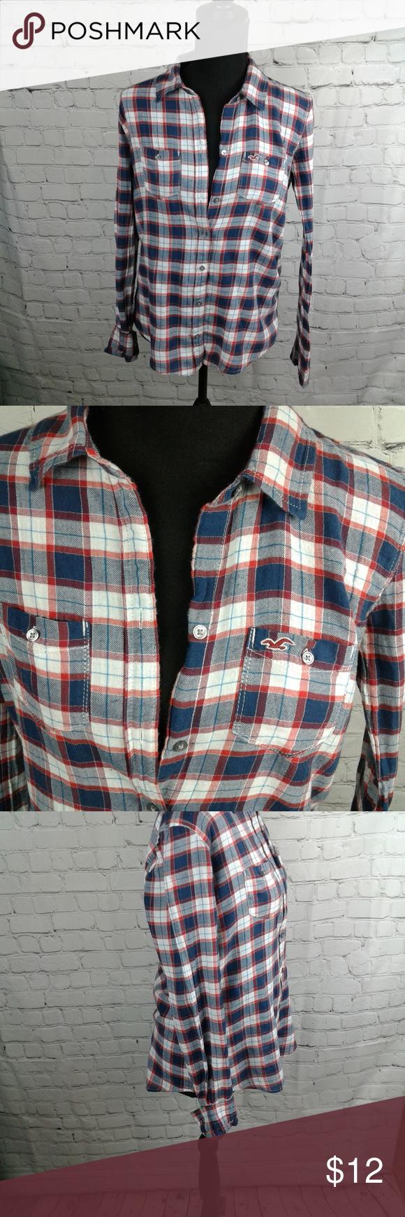 Hollister flannel shirts womens  Hollister Flannel  My Posh Closet  Pinterest  Flannels