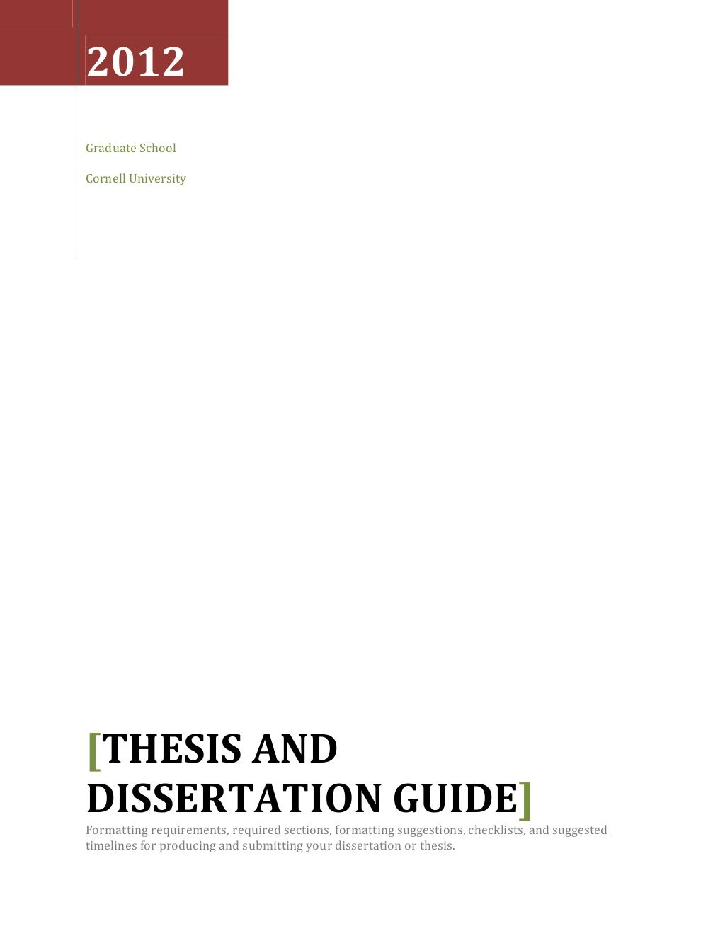 nyu gsas dissertation formatting guide
