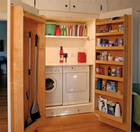 Armario lavadora simple armario para lavadora y secadora for Cocinas integrales alkosto
