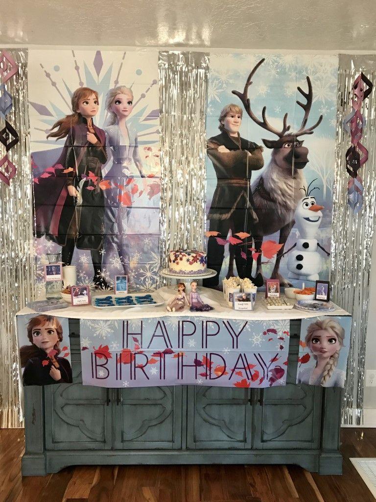 Frozen 2 Birthday Party Ideas in 2020 2nd birthday