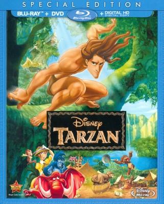 Tarzan Blu Ray Dvd Digital Tarzan Movie Tarzan Dvd Tarzan Disney