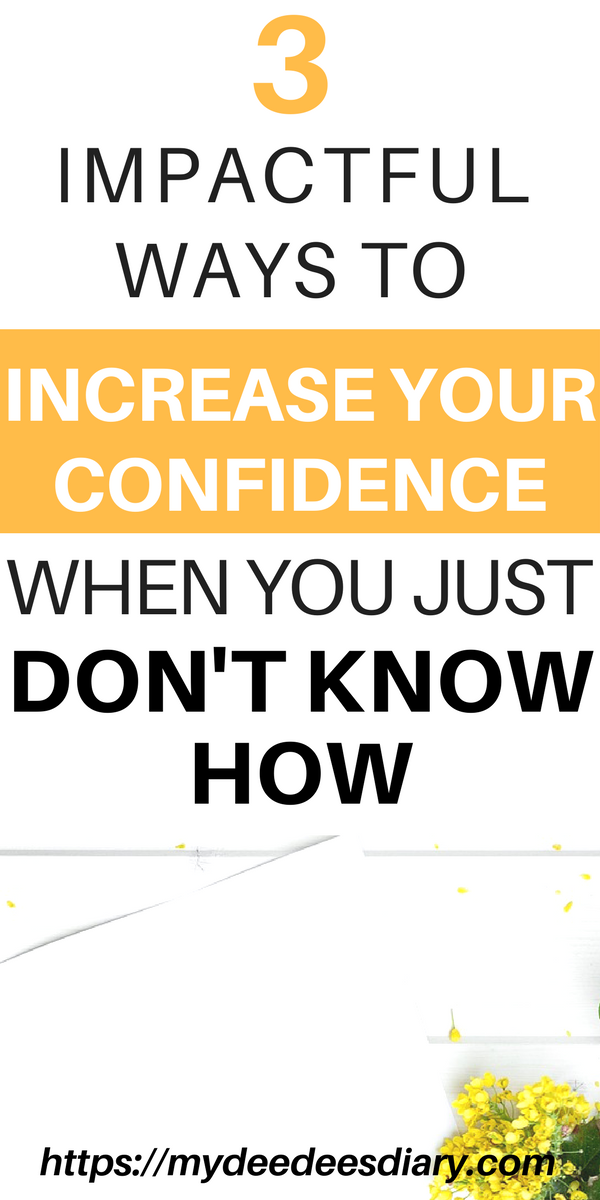 How to increase dating confidence