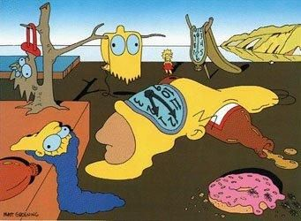 the persistence of simpson - the treachery of images