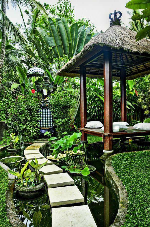 Garden design ideas - Garden Tips | Pinterest | Balinese garden ...