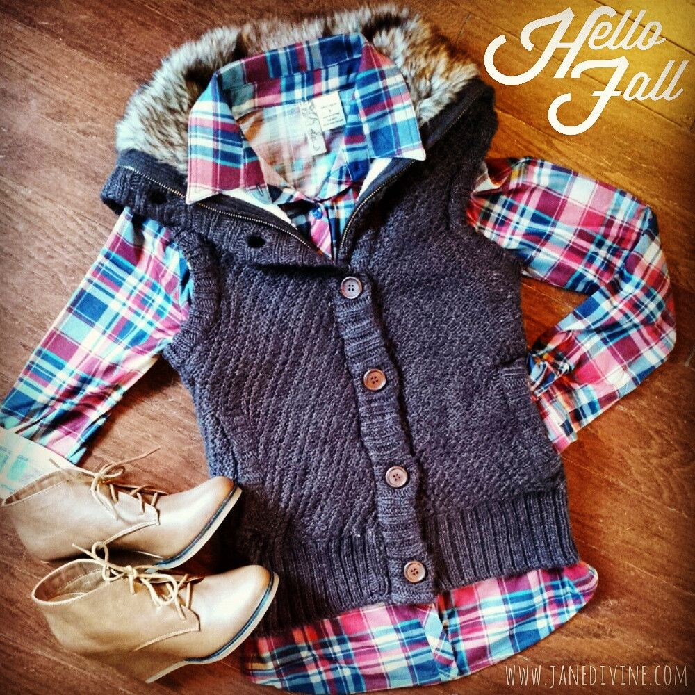 Fall Fashion, Fall Outfit, Rocky Mountain Sweater Vest-Chocolate ...