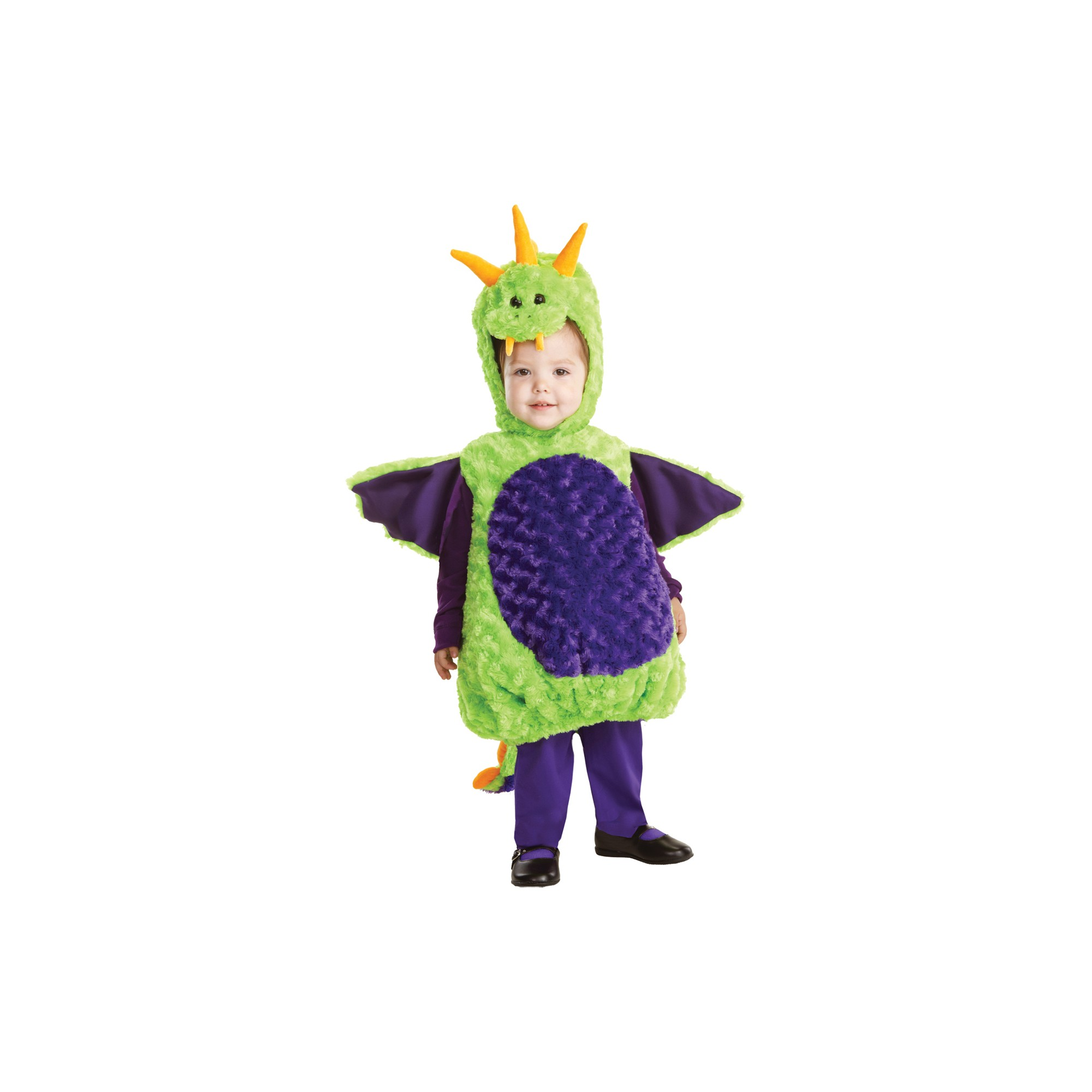 child's dragon costume - 2t/4t, kids unisex, size: 2t-4t, multi