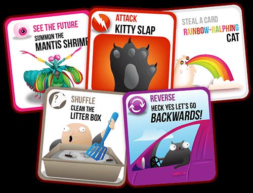 Exploding Kittens The Mobile App ในป 2020