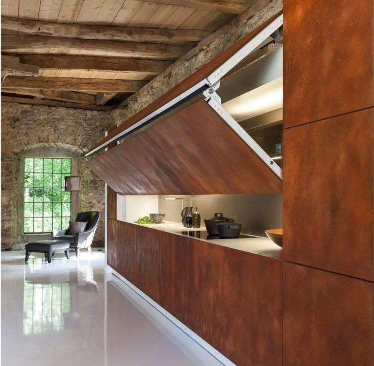 Cocinas Ocultas Para Casas Pequenas