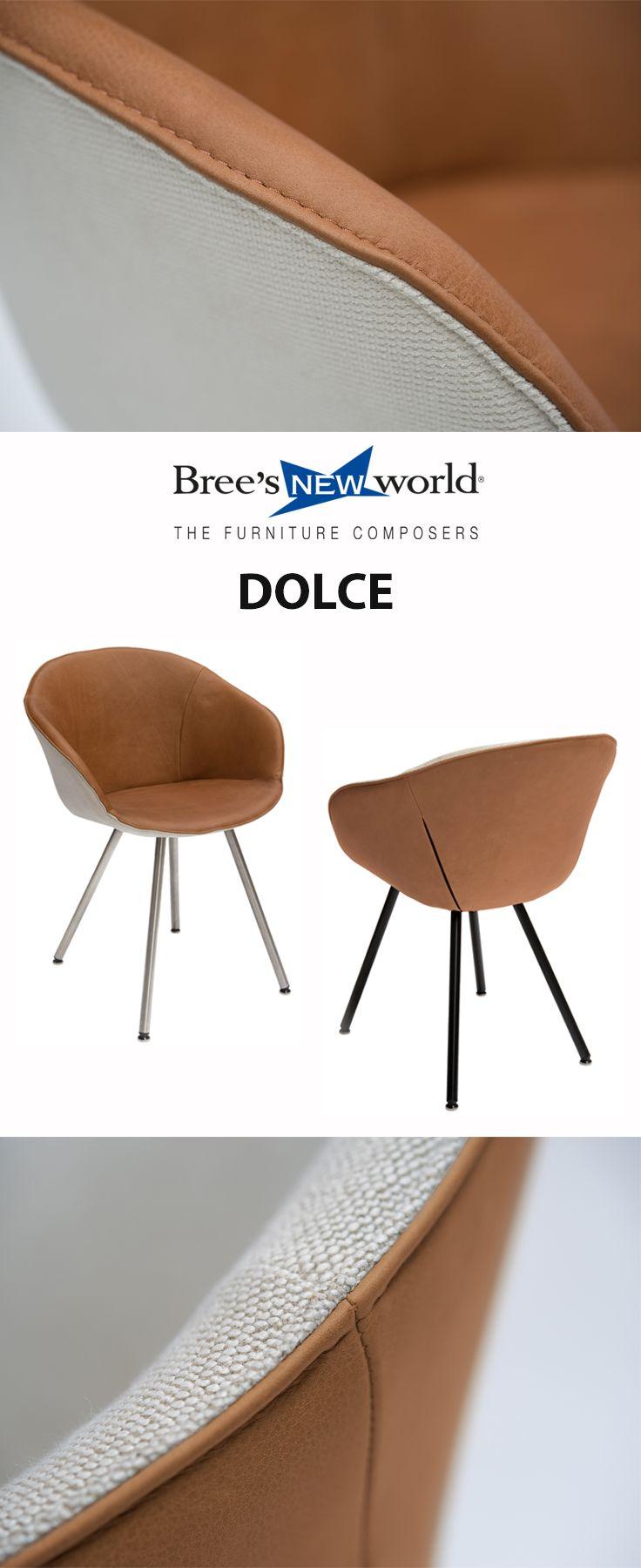 Kuipstoel Dolce van Bree\'s New World. Mogelijk met 4 verschillende ...