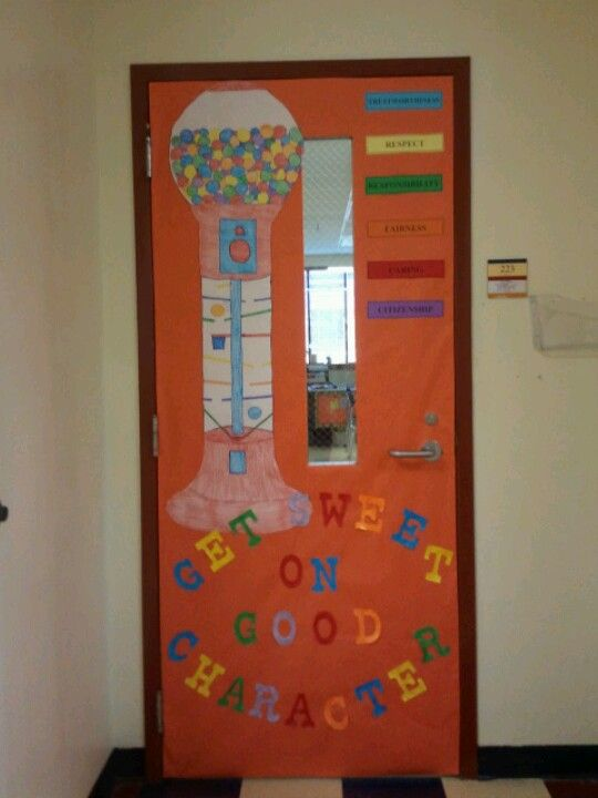 Character counts door decoration | Favorite Places ...