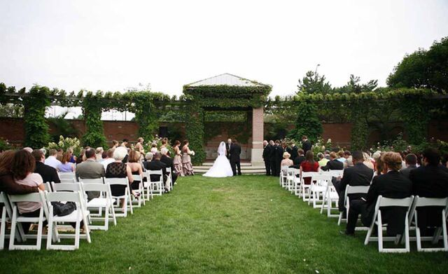 Outdoor Wedding Ceremonies are always a popular choice. Just be mindful of the Weather, too hot is bad , too cold is worse and rain will ruin your curls! Be sure to always have a plan B with a heated and or cooled Tent.