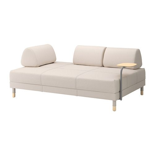Astounding Sleeper Sofa With Side Table Flottebo Lofallet Beige In 2019 Squirreltailoven Fun Painted Chair Ideas Images Squirreltailovenorg