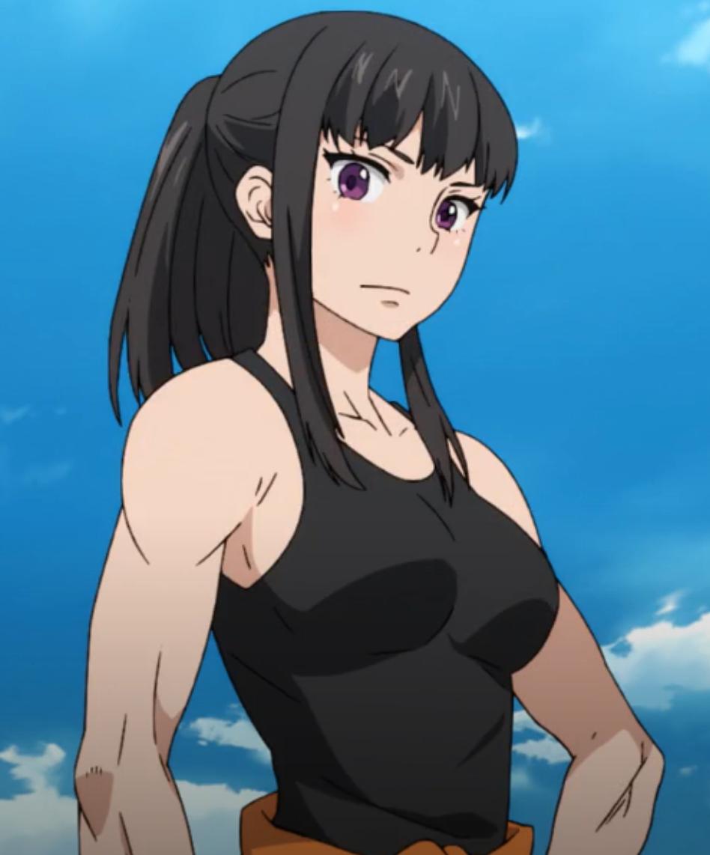 Maki Oze Fire Force Anime, Anime characters, Anime art girl