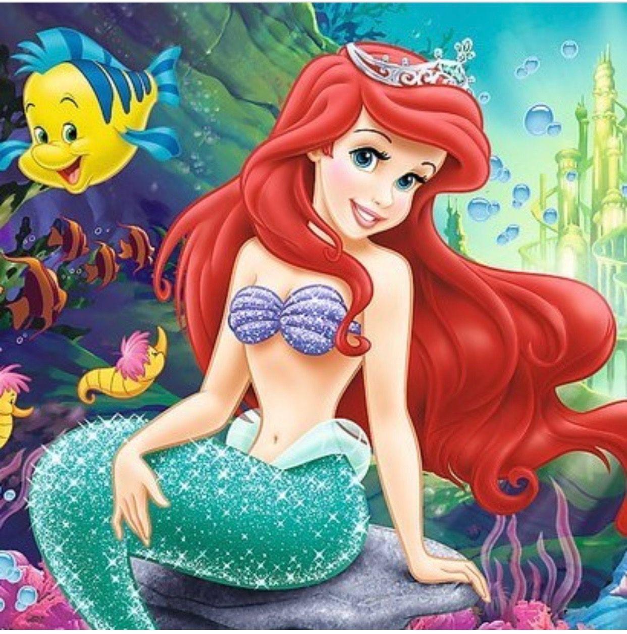 "Disney/'s The Little Mermaid /""Princess Ariel/"" X-Stitch Pattern CD Fantasy"