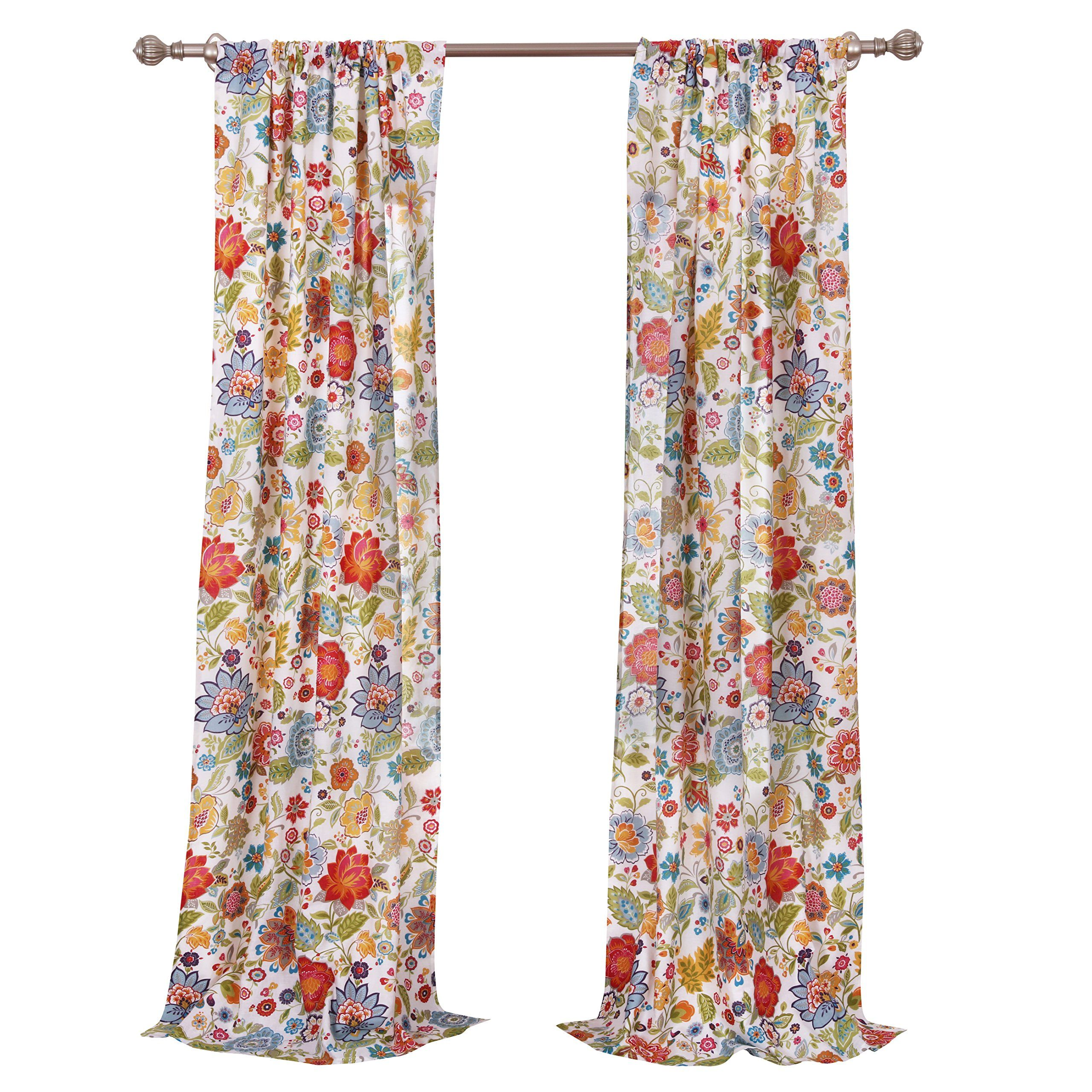 Greenland Home Astoria Curtain Panel Set 84 White You Can Find