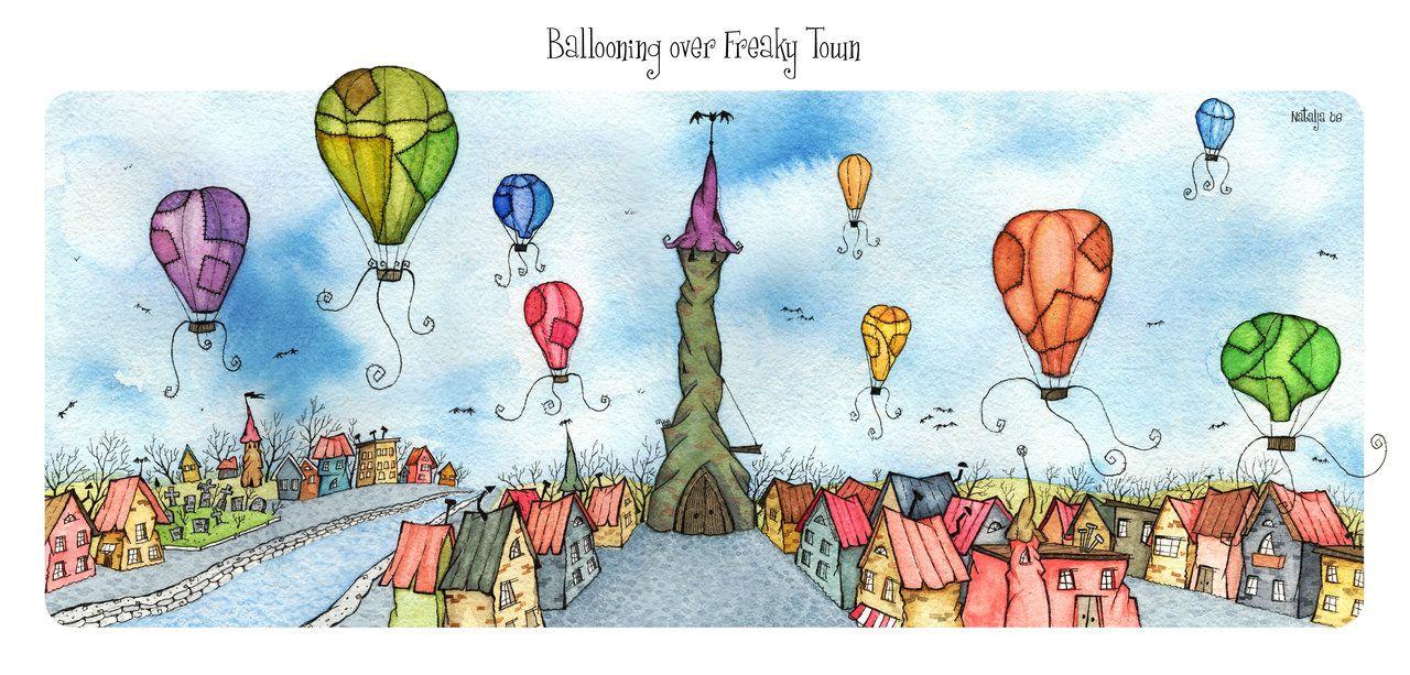 http://adelaida.deviantart.com/art/Ballooning-Over-Freaky-Town-84170061