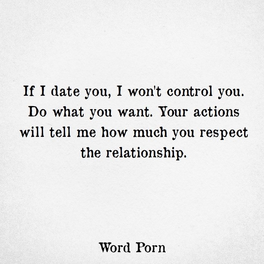 He doesn\'t respect your relationship or marriage apparently ...