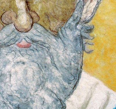 VunoRad`s wool paintings...