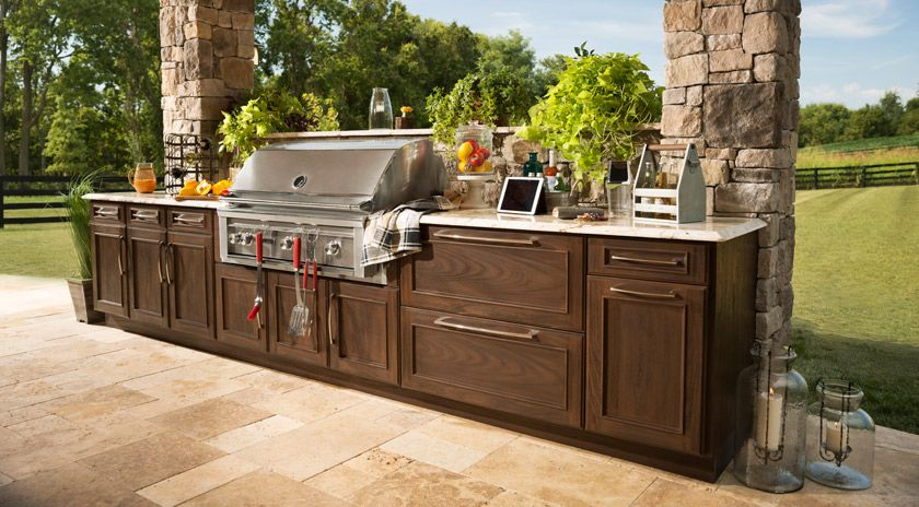 Trex Outdoor Kitchens   Cabinetry And Storage