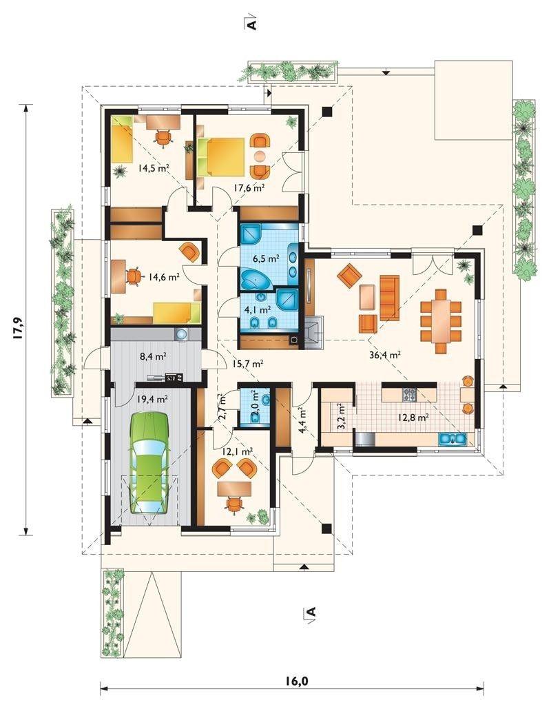 Pin Von Kate Yaschenko Auf Moi Domiki Haus Grundriss Bauplan