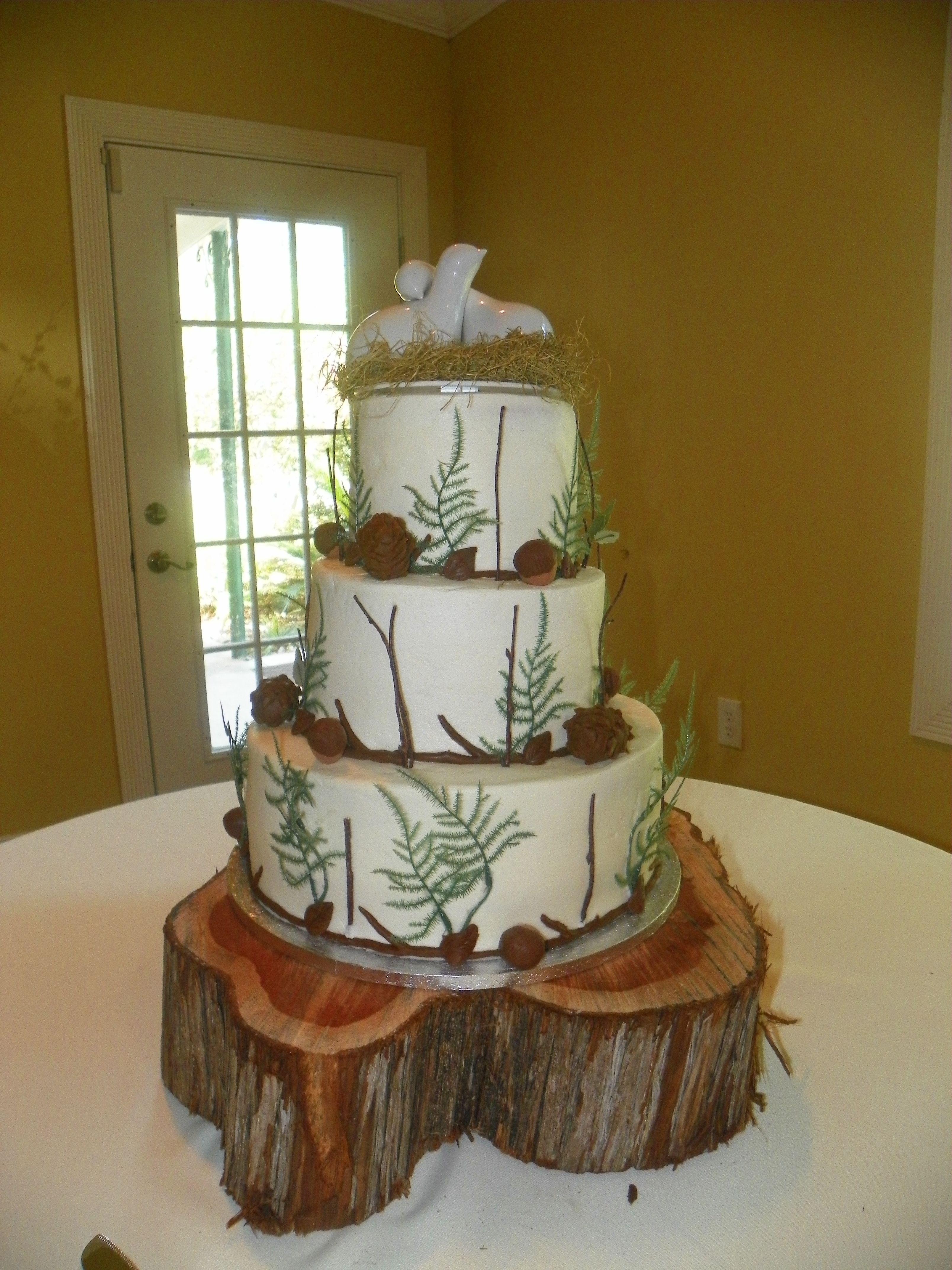 Rustic wedding cakes weddbook wedding ideas pinterest