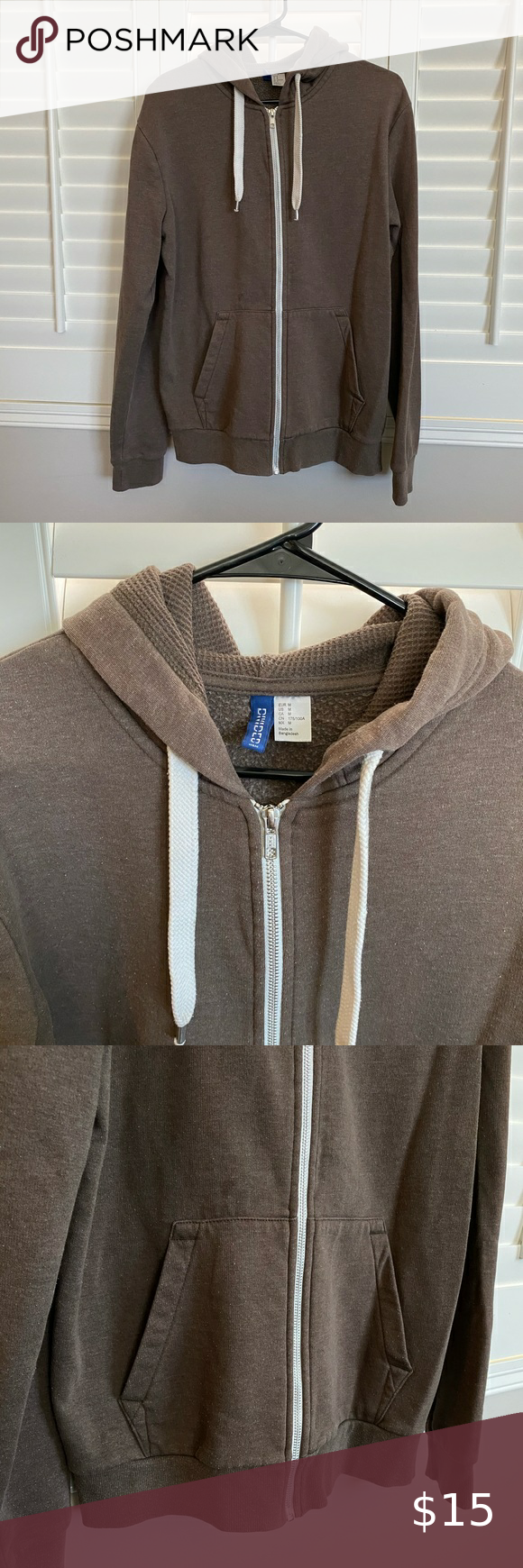 H M Divided Zip Hoodie Men S Zip Hoodie Size M Great Condition Tan Color H M Shirts Sweatshirts Hoodies Zip Hoodie Hoodies Brown Hoodie [ 1740 x 580 Pixel ]