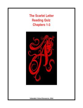 The Scarlet Letter Reading Quiz Ch 1 3