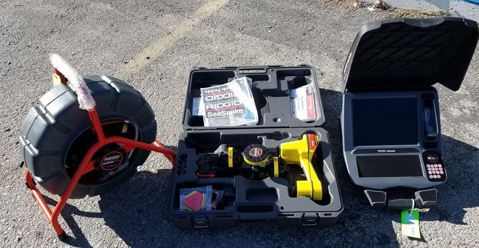 New Sewer Inspection Equipment Is In Aqualux Draining And Plumbing Is Now Offering Affordable Sewer Line Inspections Contac Drain Repair Drain Cleaner Plumbing