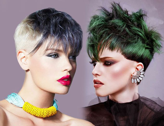 Glam Party Hairstyles for Short Hair  #hairstyles