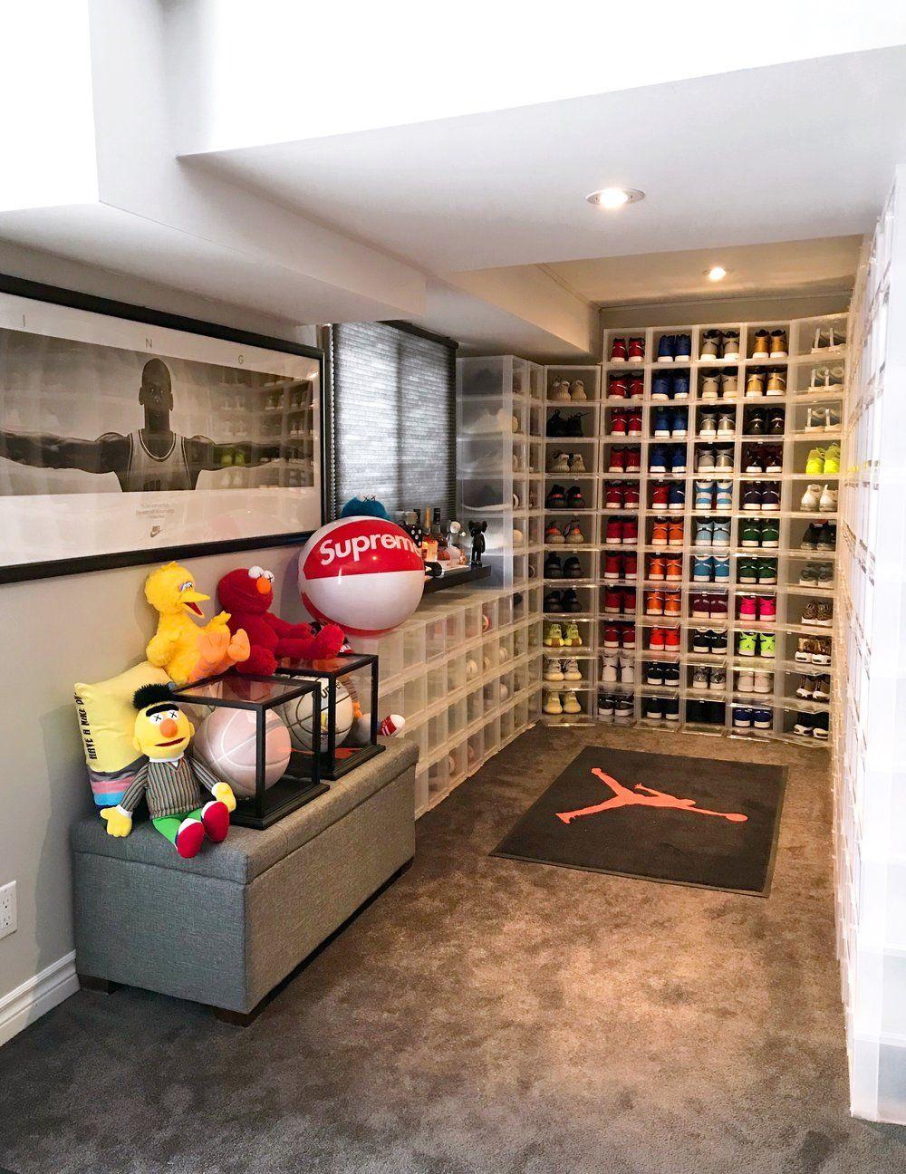 11++ Sneakerhead bedroom ideas