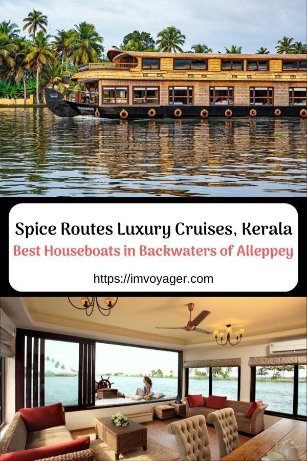 Spice Routes Luxury Cruises, Alleppey, Kerala, India   Best Houseboats in Alleppey   Best Luxury Houseboat Alleppey   Kerala Houseboat Cruise   Kerala Luxury Houseboats   Best luxury houseboat in Alleppey backwaters, Kerala, India   Kumarakom houseboats   Alleppey houseboats   Luxury houseboats in Alleppey   5 star houseboats in Kerala   Honeymoon houseboat in Alleppey   #travel #Kerala #KeralaBackwaters #KeralaCruise #KeralaCruises #KeralaBackwaterCruise #LuxuryCruise #LuxuryTravel
