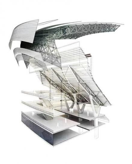 Drawing Architecture Section Design 35+ Ideas #drawing