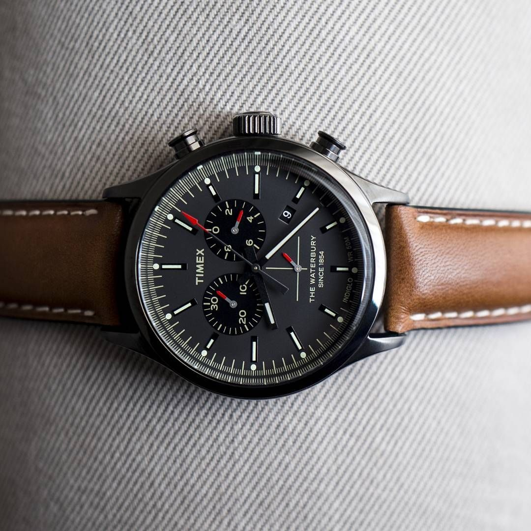 27fea59cf32a The Timex Waterbury Chronograph - travelling private collection TW2P95500ZA