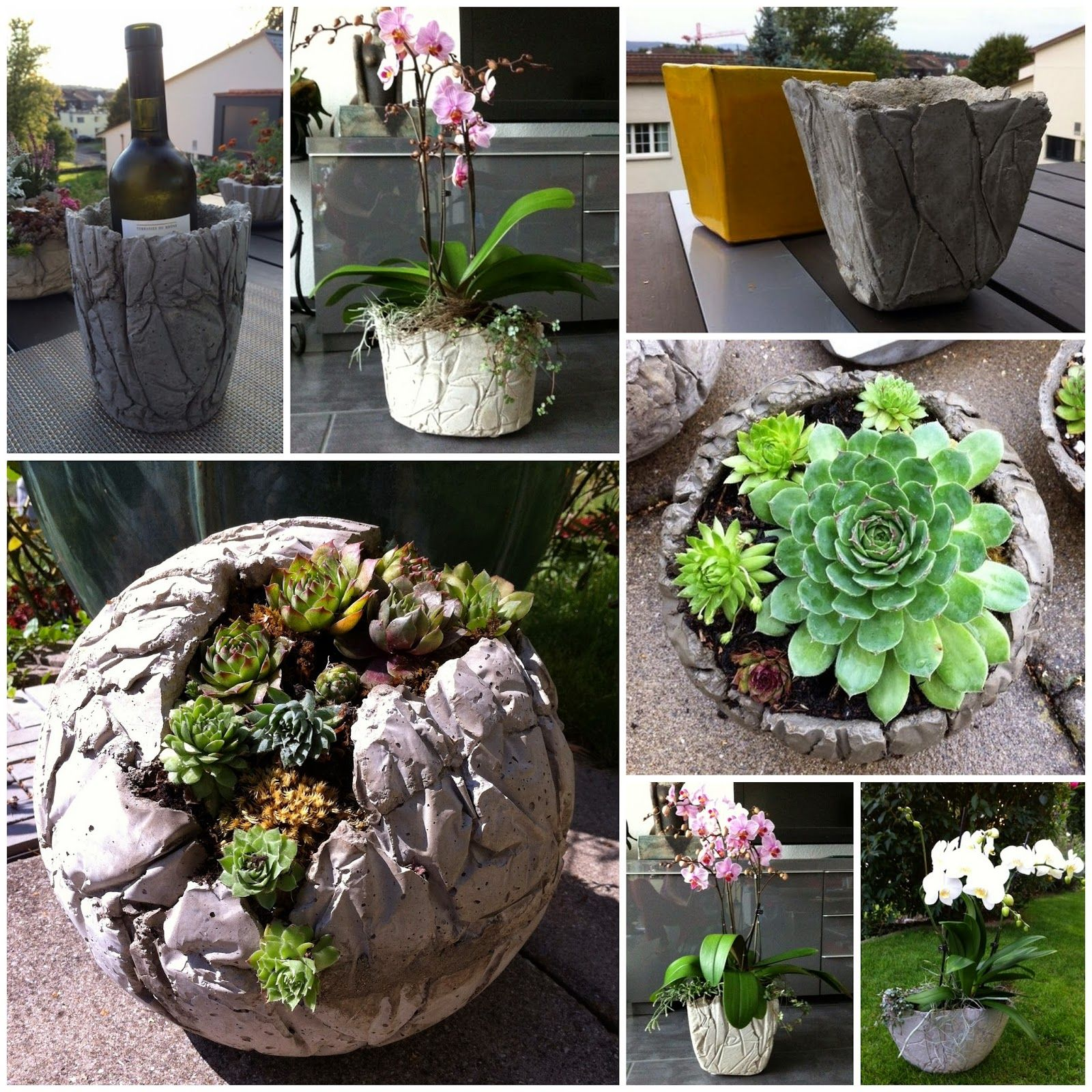Cement Garden Art: Kreative Mitbringsel Aus Beton