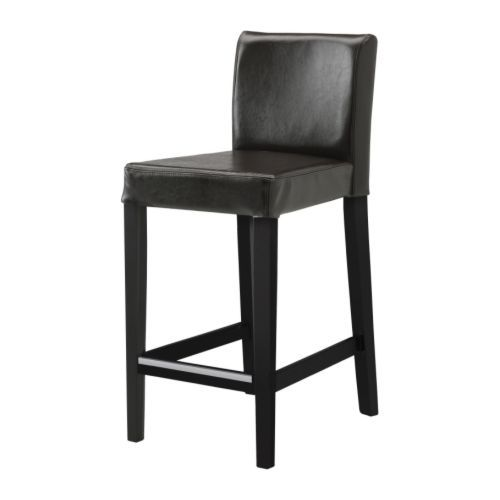 Henriksdal Bar Stool With Backrest Ikea Durable Bycast