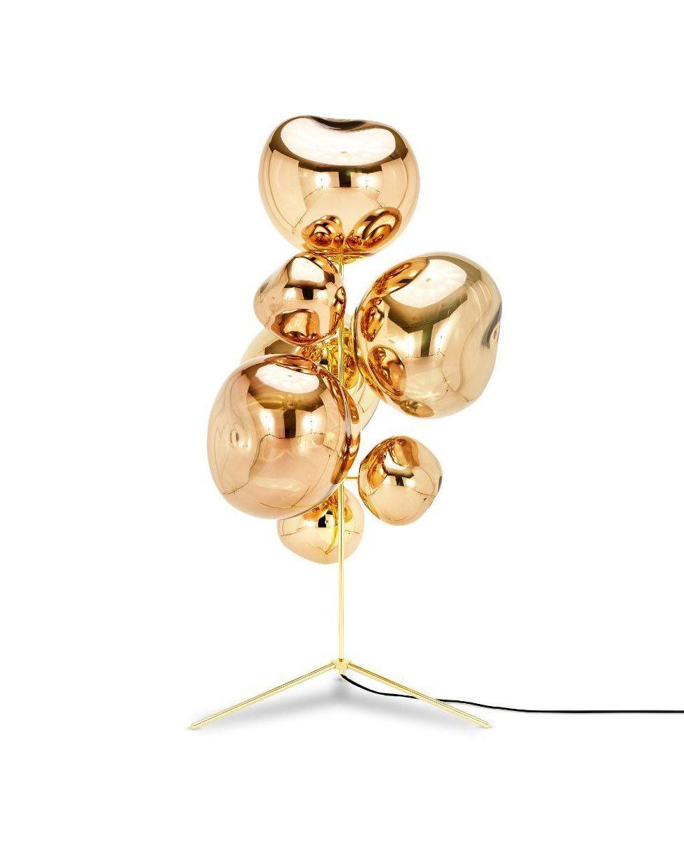 Melt Stand Chandelier Floor Lamp In 2020 Chandelier Floor Lamp Tom Dixon Gold Floor Lamp