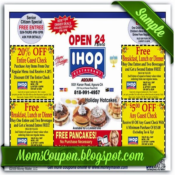 Free Printable Ihop Coupons Sources Discount and Promo for the