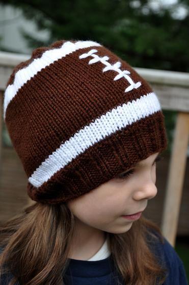 Football Hat - Knitting Patterns and Crochet Patterns from KnitPicks ... 6d45f9731