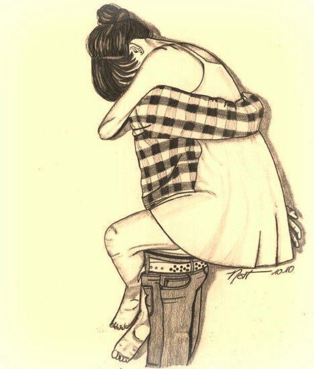Jumping Hugs Things I Love Drawings Couple Drawings Love Drawings