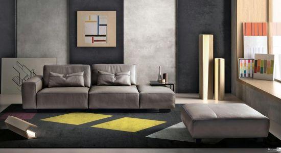 Canape En Cuir Gamma Soho Mobilier De Salon Meuble Design Design