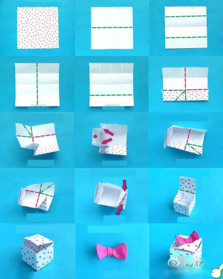 Origami Box With Lid Printable Instructions Image Collections