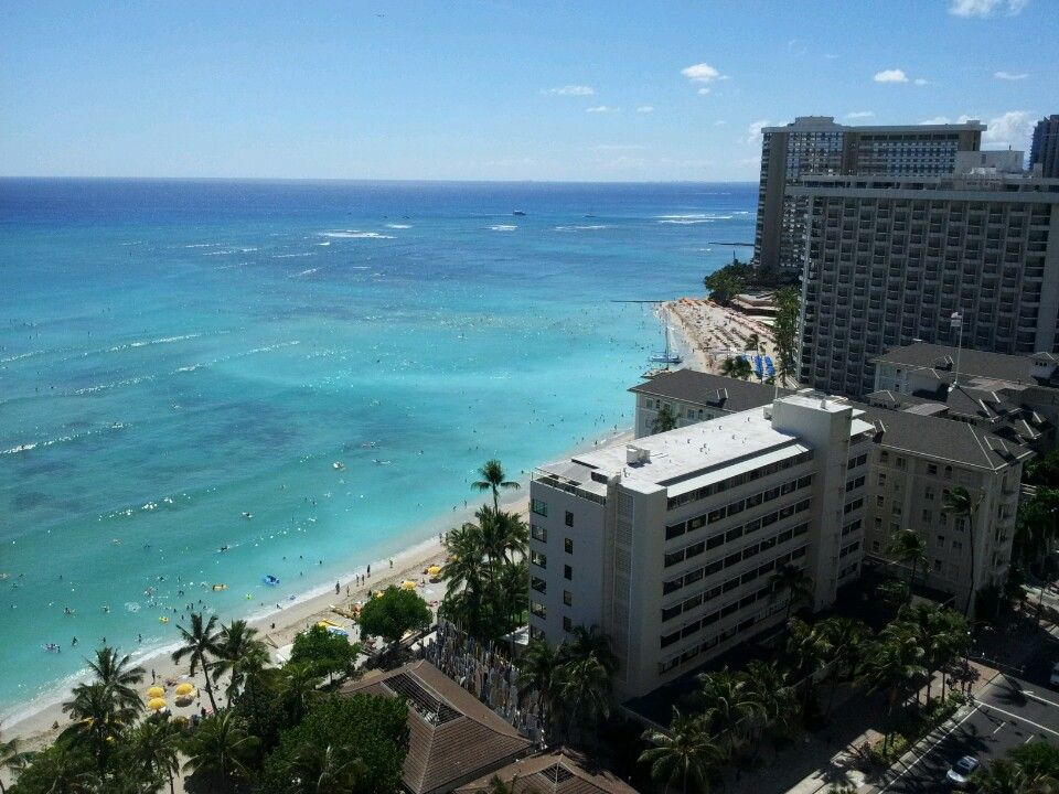 Awesome view of Hawaii