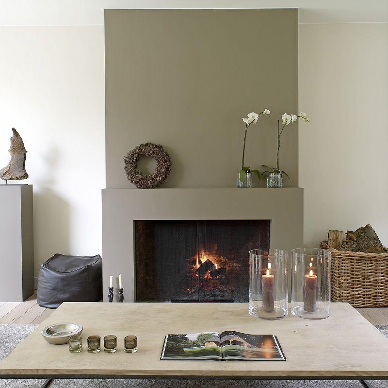 Domus Aurea Exclusieve Villabouw Simple mantel Ideas para el - tipos de chimeneas