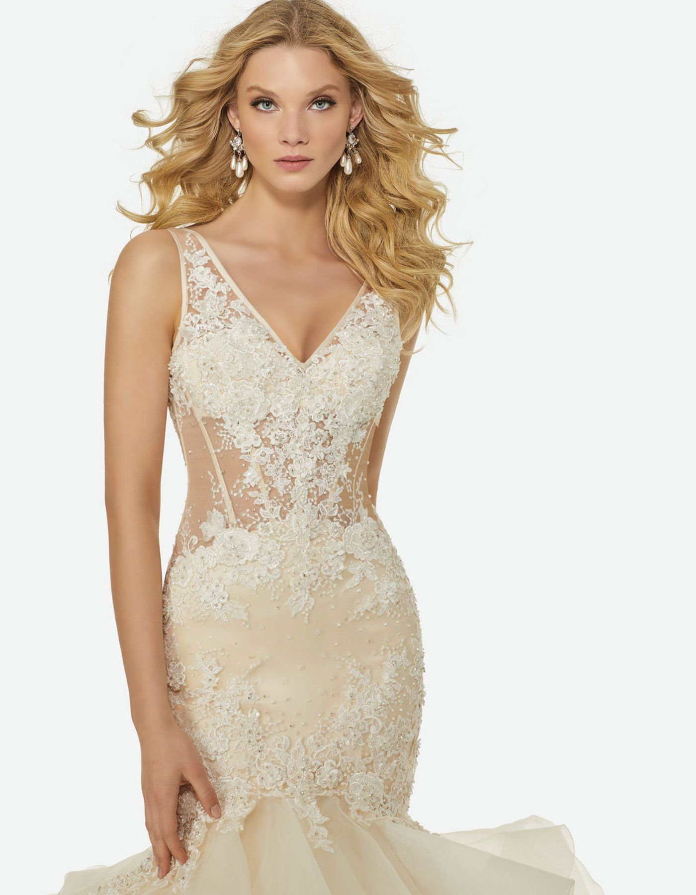 Charlize by randi fenoli the tulle embroidered with floral motifs is