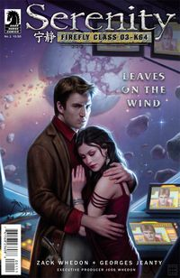 Serenity: Leaves on the Wind #1 (Dan Dos Santos cover) (Current Printing)