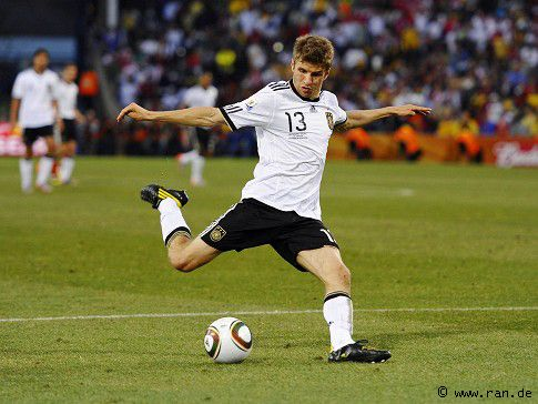Muller Thomas Germany 5 Goals South Africa 2010 Soccer World Thomas Muller World Cup