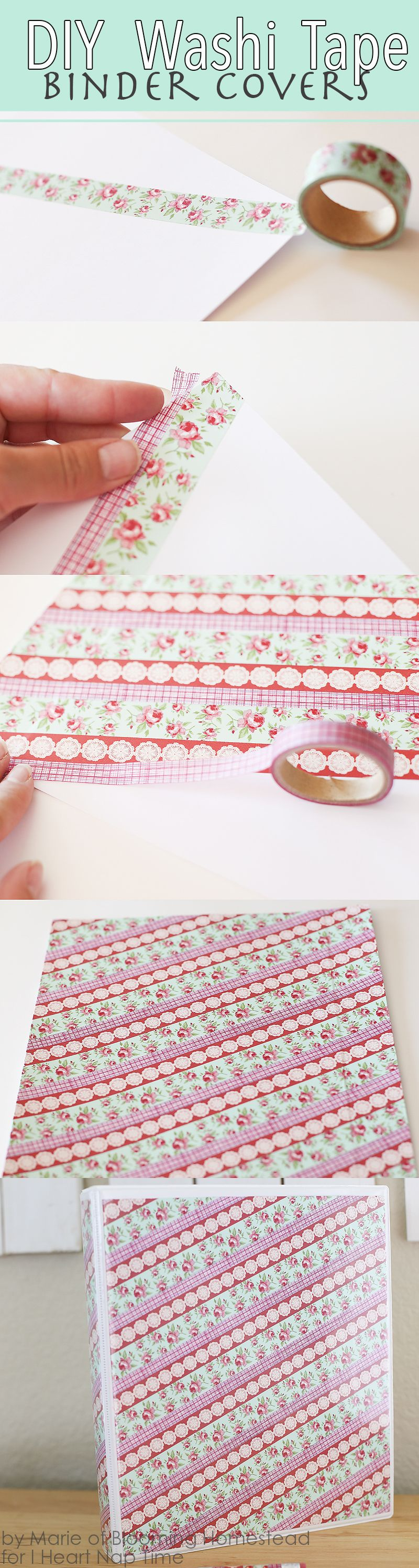 how to make a diy binder cover